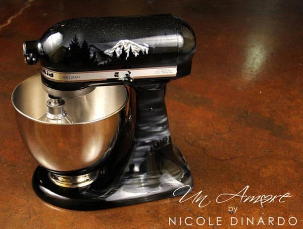 The coolest kitchenaid mixers ever un amore by nicole dinardo life in minnesota - Decorated kitchenaid mixer ...