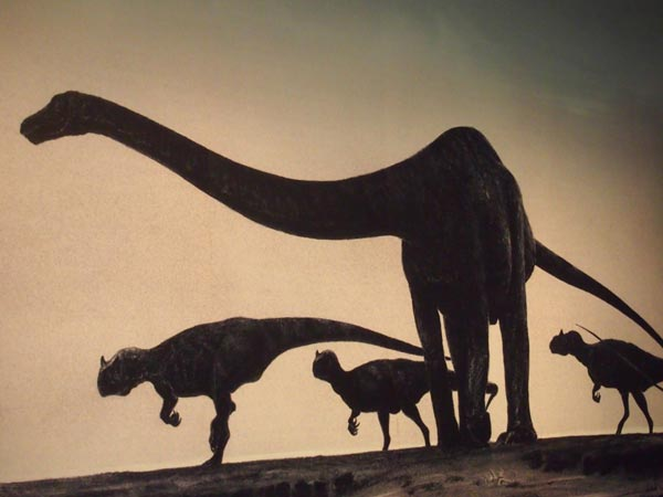 Old dinosaurs science
