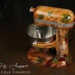 custom designed kitchenaid mixer airbrushed