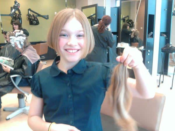 Giving Your Hair to Someone in Need: Locks of Love