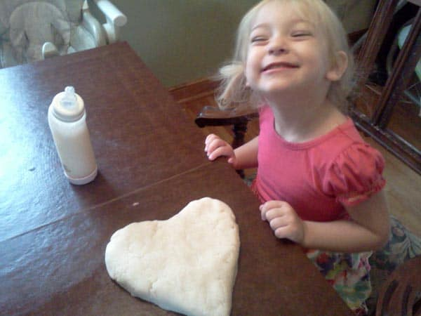 cooked Homemade Playdough Recipe