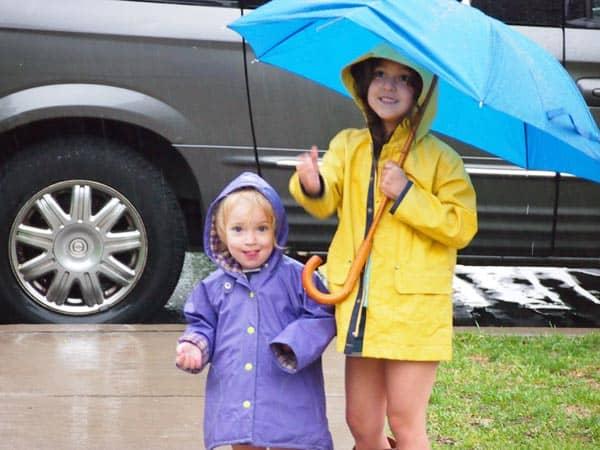 10 Things I like to do on a rainy day