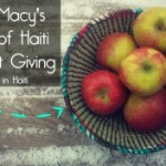 Shop Macy's Heart of Haiti For Gift Giving mn blogger small cover