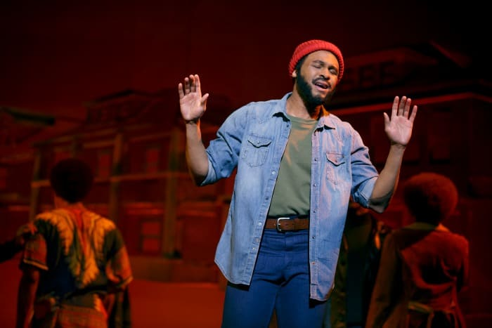 Marvin Gaye motown the musical on stage 2014 review