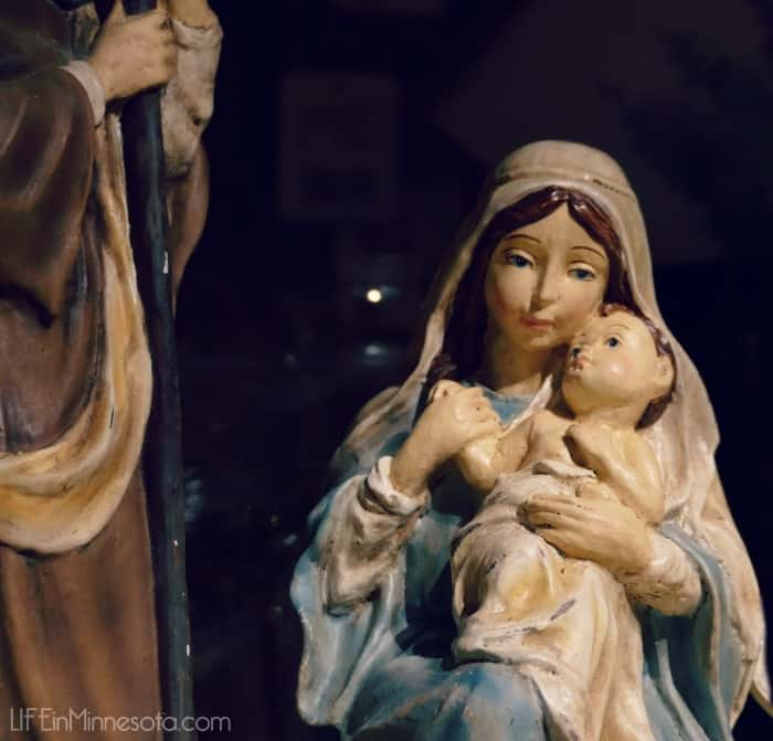baby jesus wooden carving gift christmas gift idea 2014 mn blog