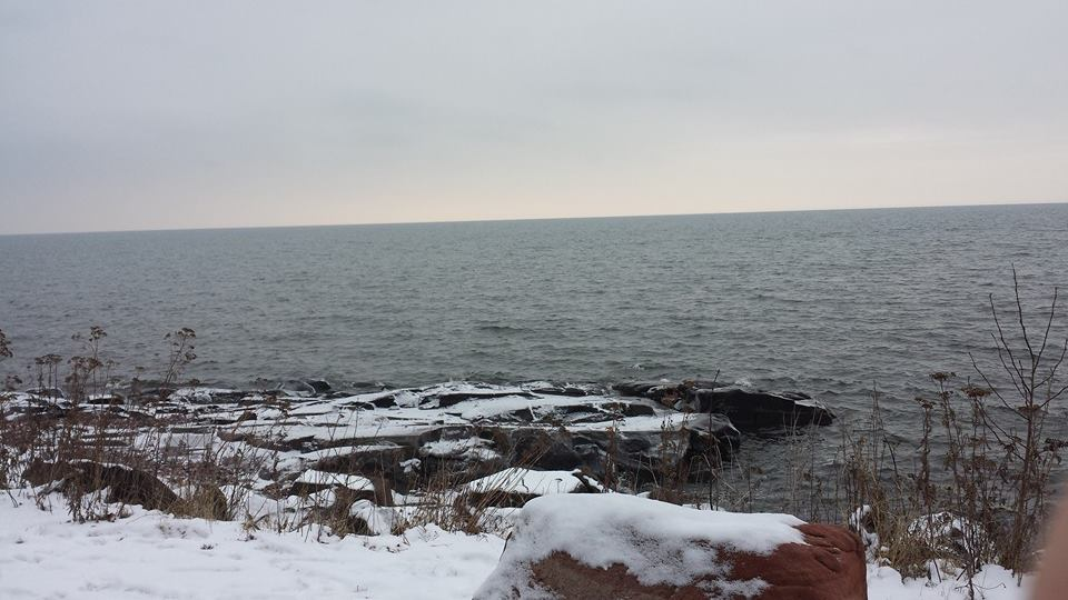 Lake Superior, Duluth, MN Sent In By: Britanny Maus 12/23/2014
