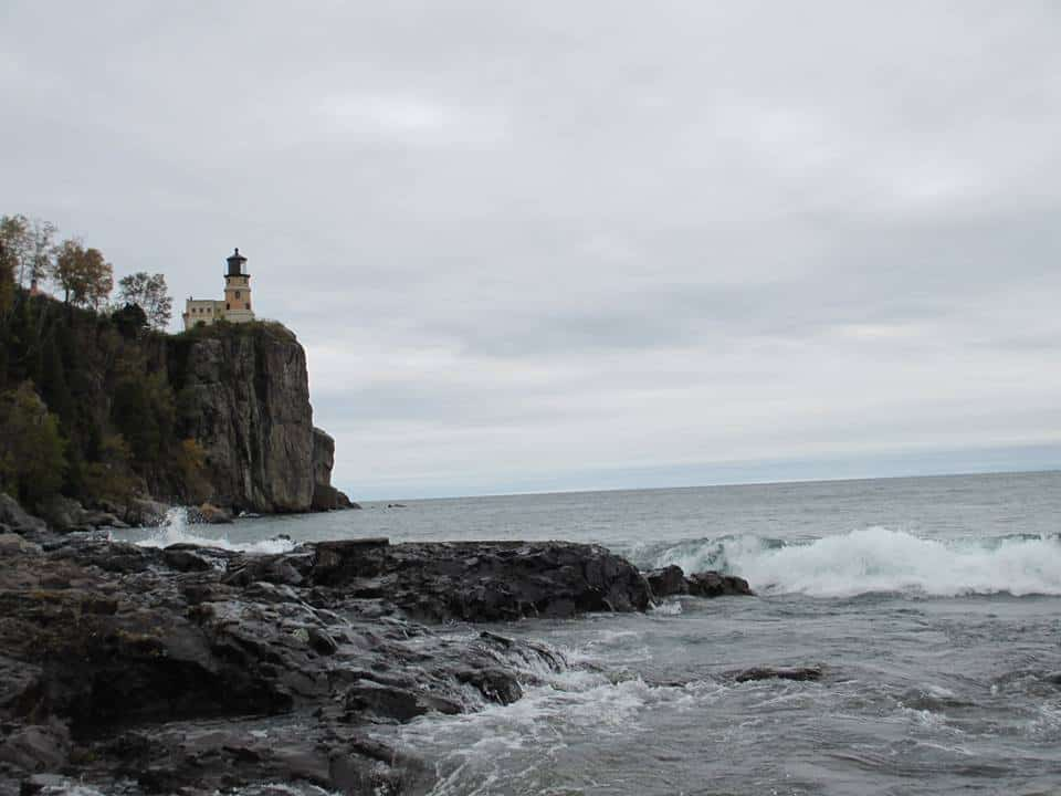 Split Rock Lighthouse, Oct. 2013 Sent In By: Jim Bloom 1/8/2015
