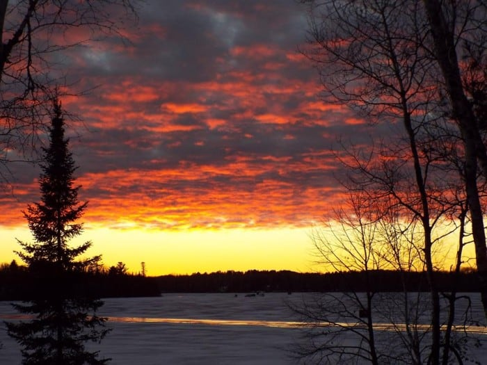 "Shared by: Julie Eley ""Here's one I thought you might like. Taken on South/Little Island Lake out of Nevis, MN"""