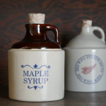 salt glaze pottery red wing mn stoneware maple syrup jug cup bowl vintage