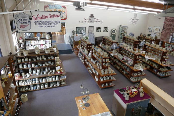 red wing pottery and stoneware store mn