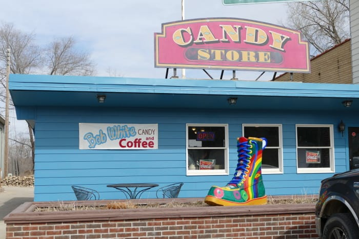 bob white red wing pottery candy store review things to do in mn