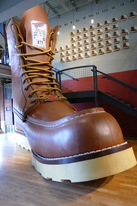 red wing shoes worlds largest boot museum review trip ideas