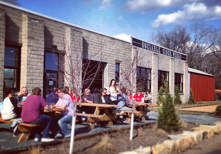 Sociable cider werks top taproom mn