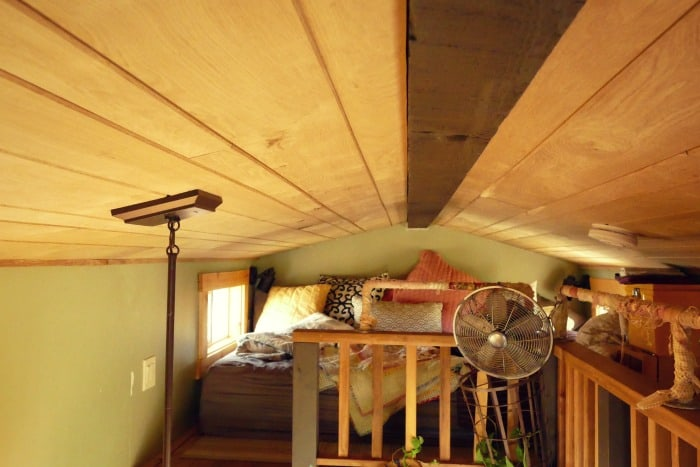 master bedroom in a tiny house tumbleweed elm design best largest ideas - Largest Tiny House