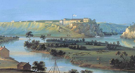Fort Snelling 1884
