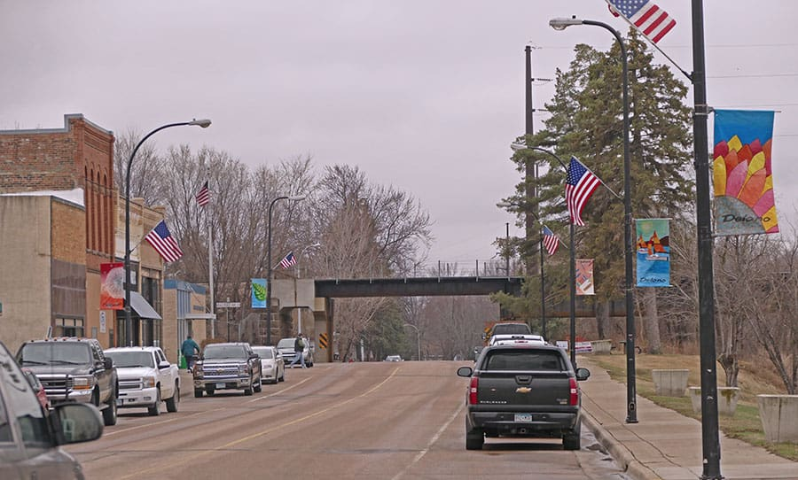 Post Photo delano minnesota main street best places to live mn