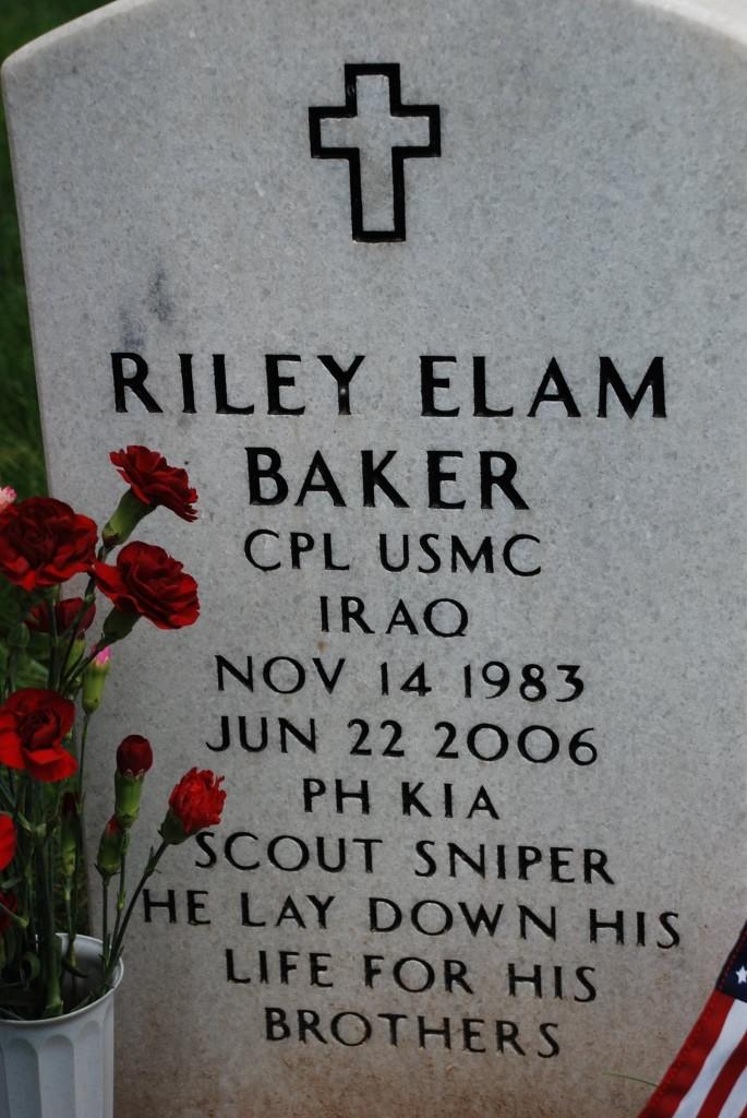 Riley Headstone (1)