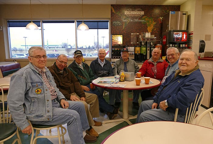 coffee meet up older men delano mn group