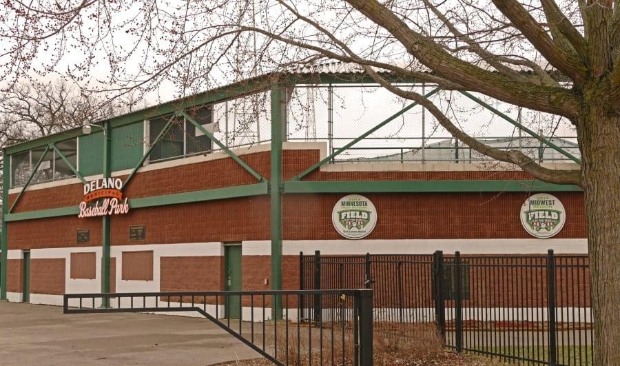 delano baseball park field mn