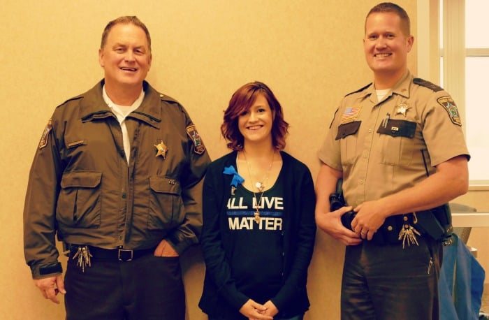 operation thank an officer letter campaign minnesota 2015