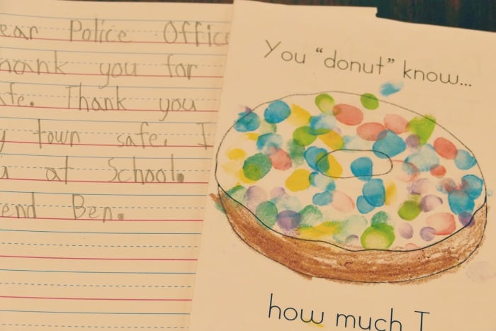 thank you letters to law enforcement mn day