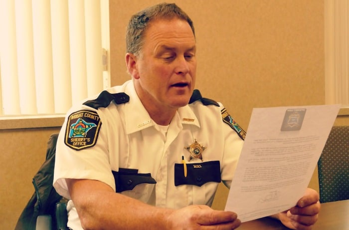 wright county minnesota sheriff department recieves thanks 2015