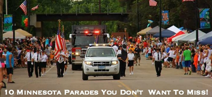 10 Minnesota  Parades You Don't  Want To Miss!