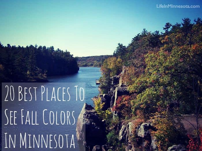 20 best top places to see changing fall colors mn