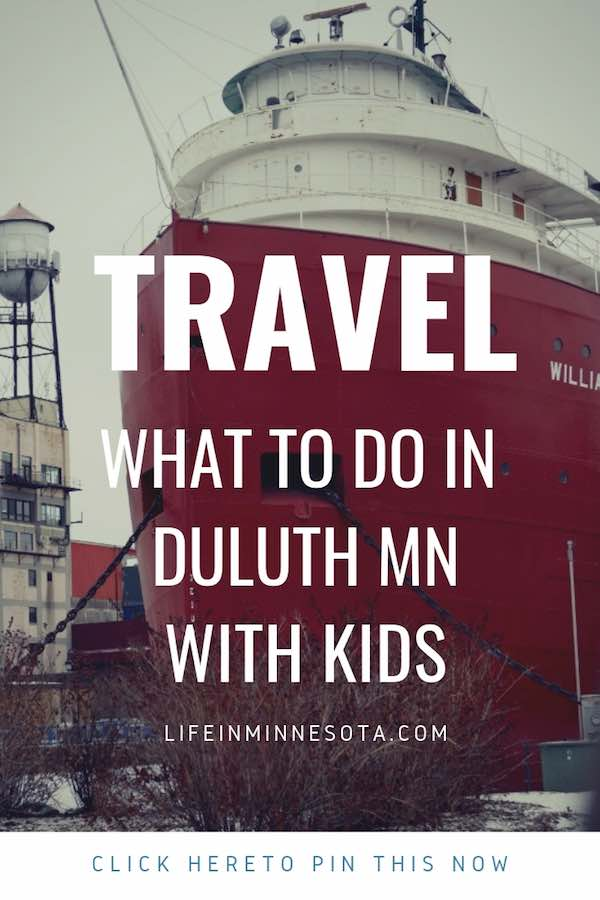 things to do in duluth winter kids