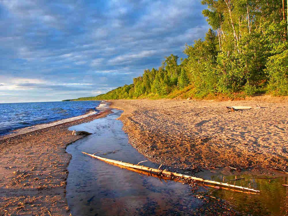 Beach at Lake Superior