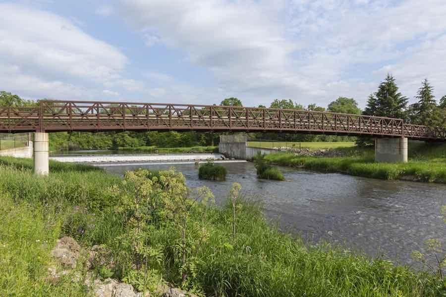 Bear Creek Bridge and Dam in Rochester MN