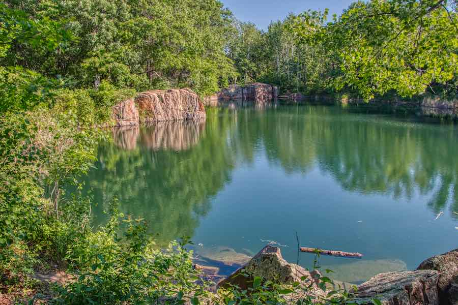 Quarry swimming hole St. Cloud MN