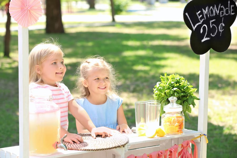 kids lemonade stand tips sales citywide mn