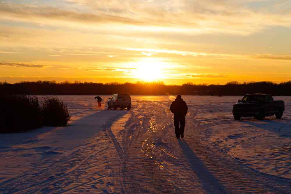 In the winter take part in cross country skiing and winter tubing for fun things to do in Maple Grove MN.