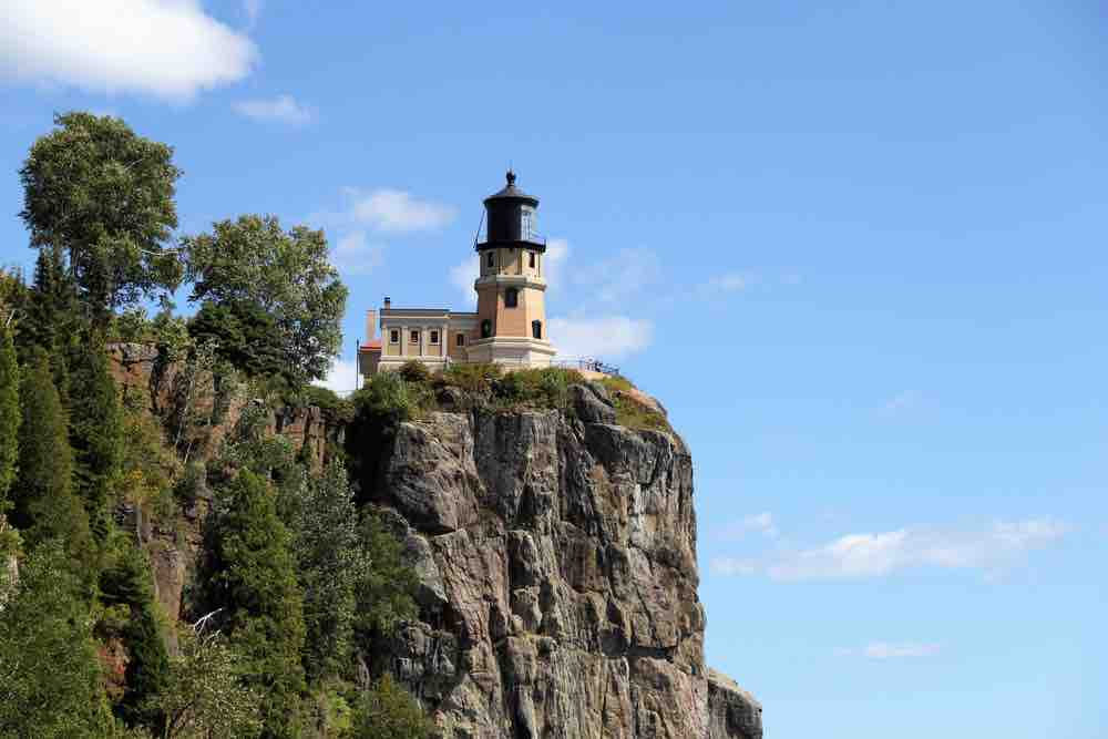 Countless ships haunt the depths below the Split Rock Lighthouse, its storied history is memorable among the things to do in Two Harbors MN.