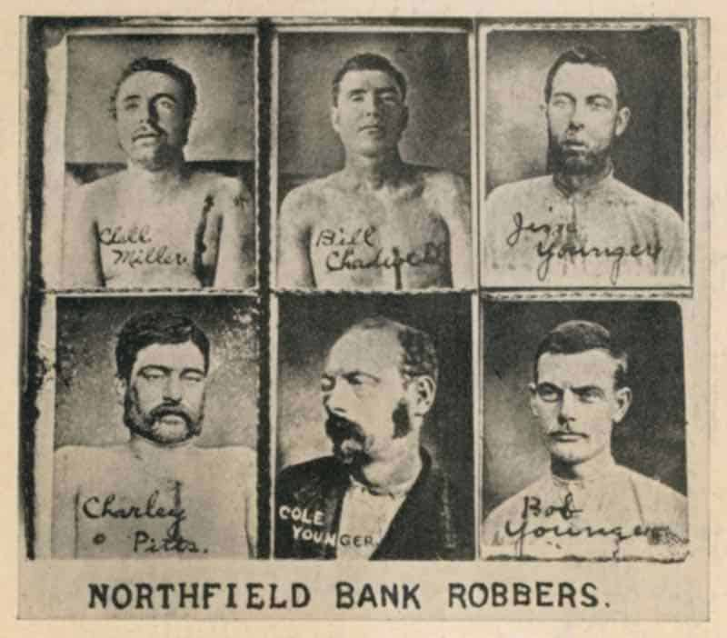 Things to do in Northfield: James Younger Gang
