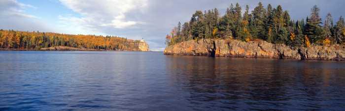 Lake Superior in autumn