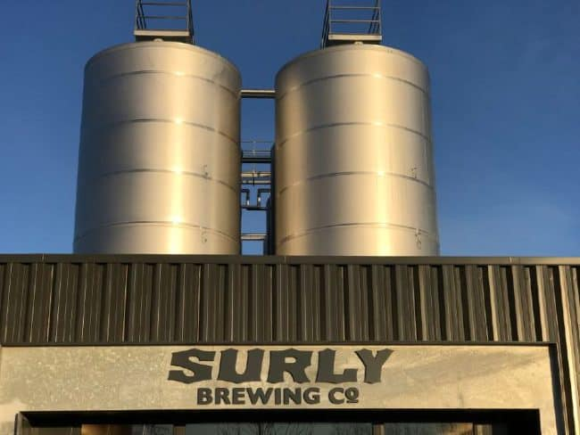 Surly Brewing Company in Minneapolis, Minnesota