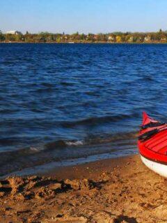 Kayak on MN lake