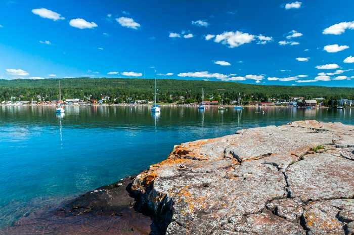 Artist Point at Grand Marais, Minnesota on Lake Superior