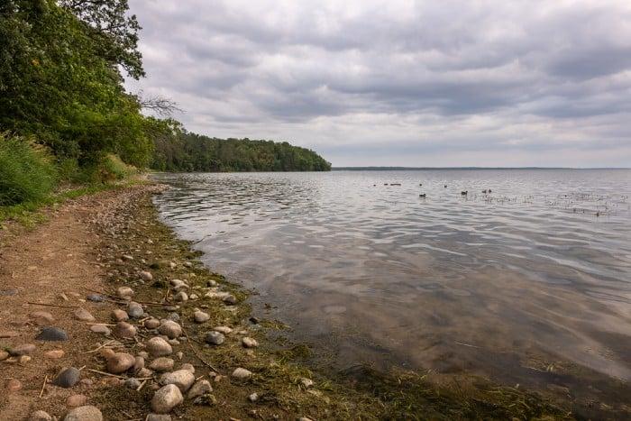 Lake Bemidji- a scenic lake landscape